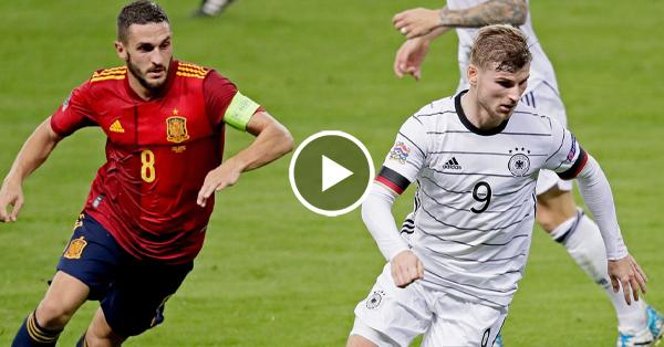 ไฮไลท์บอล ยูฟ่า เนชั่นส์ ลีก สเปน vs เยอรมนี 17-11-63