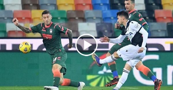 ไฮไลท์บอล กัลโช่ เซเรียอา อิตาลี อูดิเนเซ่ vs โครโตเน่ 15-12-63