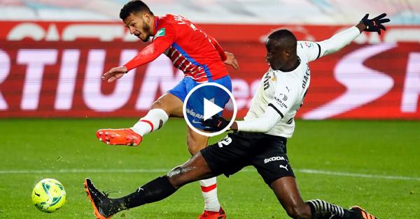 ไฮไลท์บอล ลาลีกา สเปน กรานาด้า vs บาเลนเซีย 30-12-63