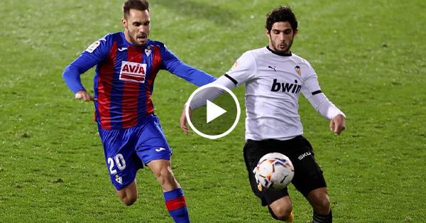ไฮไลท์บอล ลาลีกา สเปน เออิบาร์ vs บาเลนเซีย 07-12-63