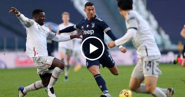 ไฮไลท์บอล กัลโช่ เซเรียอา อิตาลี ยูเวนตุส vs โบโลญญ่า 24-01-64
