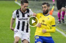 ไฮไลท์บอล ลาลีกา สเปน คาดิส vs เลบานเต้ 19-01-64