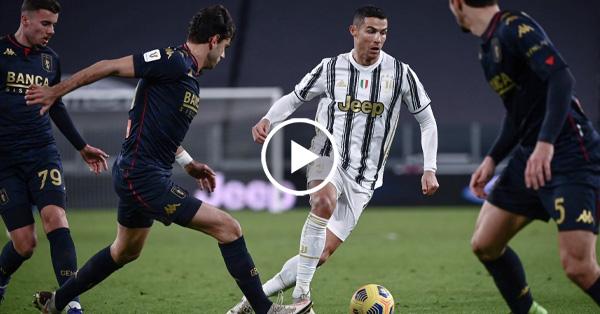 ไฮไลท์บอล โคปา อิตาเลีย ยูเวนตุส vs เจนัว 13-01-64