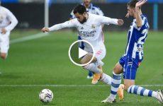 ไฮไลท์บอล ลาลีกา สเปน อลาเบส vs เรอัล มาดริด 23-01-64