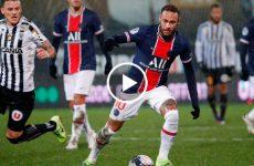 ไฮไลท์บอล ลีกเอิง ฝรั่งเศส อองเช่ร์ vs ปารีส แซงต์ แชร์กแมง 16-01-64