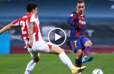 ไฮไลท์บอล สเปน ซุปเปอร์คัพ บาร์เซโลน่า vs แอธเลติก บิลเบา 17-01-64
