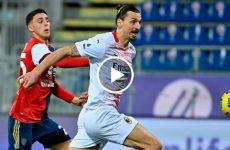 ไฮไลท์บอล กัลโช่ เซเรียอา อิตาลี กาญารี่ vs เอซี มิลาน 18-01-64