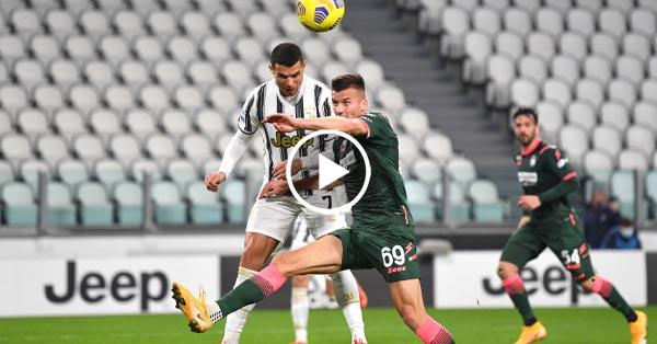 ไฮไลท์บอล กัลโช่ เซเรียอา อิตาลี ยูเวนตุส vs โครโตเน่ 22-02-64