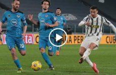 ไฮไลท์บอล กัลโช่ เซเรียอา อิตาลี ยูเวนตุส vs สเปเซีย 02-03-64