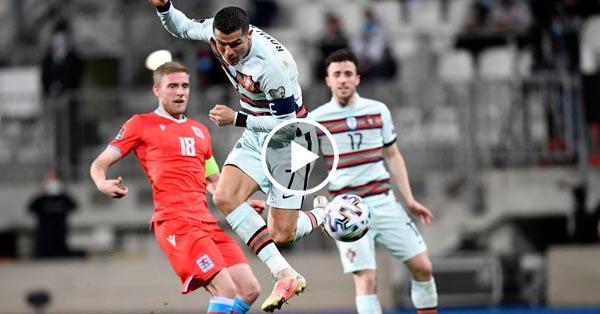 ไฮไลท์บอล ฟุตบอลโลก 2022 รอบคัดเลือก ลักเซมเบิร์ก vs โปรตุเกส 30-03-64
