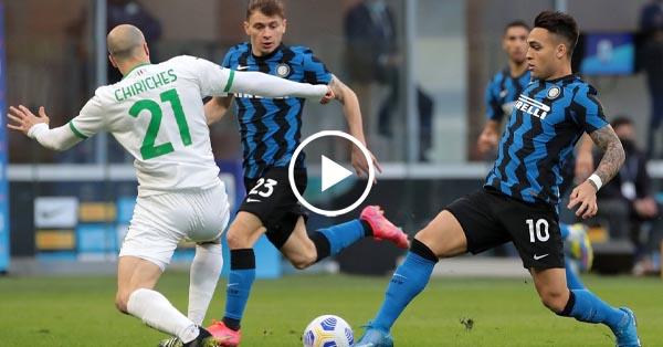 ไฮไลท์บอล กัลโช่ เซเรียอา อิตาลี อินเตอร์ มิลาน vs ซัสเซาโล่ 07-04-64