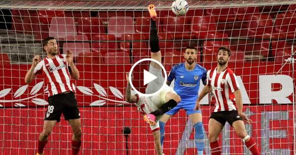 ไฮไลท์บอล ลาลีกา สเปน เซบีย่า vs แอธเลติก บิลเบา 03-05-64