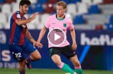 ไฮไลท์บอล ลาลีกา สเปน เลบานเต้ vs บาร์เซโลน่า 11-05-64