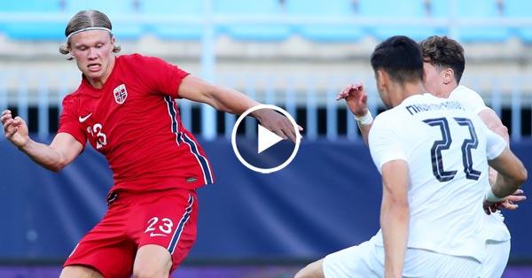 ไฮไลท์บอล กระชับมิตรทีมชาติ นอร์เวย์ vs กรีซ 06-06-64