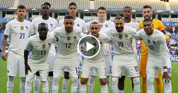 ไฮไลท์บอล กระชับมิตรทีมชาติ ฝรั่งเศส vs บัลแกเรีย 08-06-64