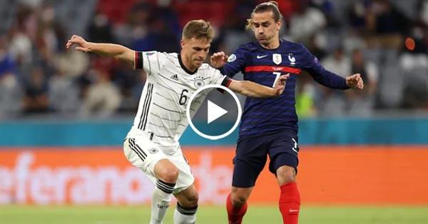 ไฮไลท์บอล ยูโร 2020 ฝรั่งเศส vs เยอรมัน 15-06-64