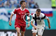 ไฮไลท์บอล ยูโร 2020 ฟินแลนด์ vs รัสเซีย 16-06-64