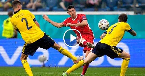 ไฮไลท์บอล ยูโร 2020 สวีเดน vs โปแลนด์ 23-06-64