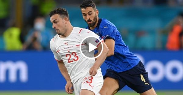 ไฮไลท์บอล ยูโร 2020 อิตาลี vs สวิตเซอร์แลนด์ 16-06-64