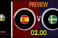วิเคราะห์บอล ยูโร 2020 สเปน VS สวีเดน