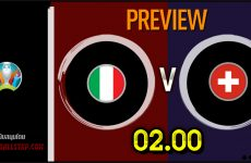 วิเคราะห์บอล ยูโร 2020 อิตาลี VS สวิตเซอร์แลนด์