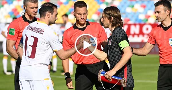 Croatia vs Armenia