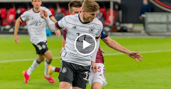 Germany vs Latvia
