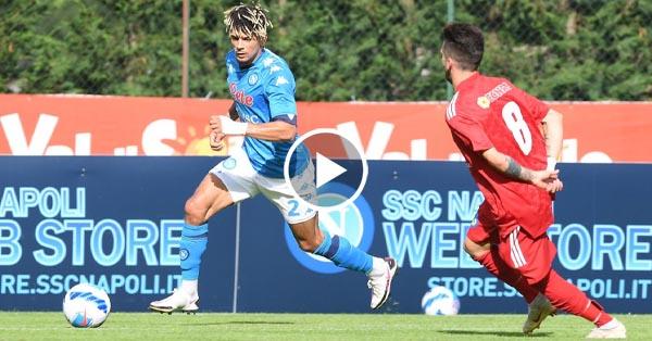ไฮไลท์บอล กระชับมิตรสโมสร นาโปลี vs บาสซา อนาอูเนีย 18-07-64