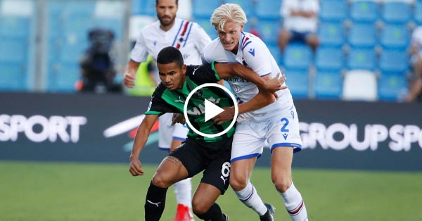 ไฮไลท์บอล กัลโช่ เซเรียอา อิตาลี ซัสเซาโล่ vs ซามพ์โดเรีย 29-08-64
