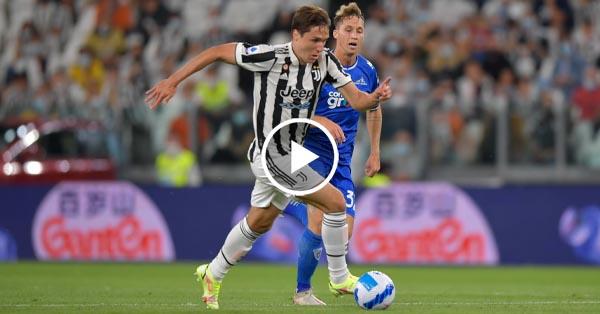 ไฮไลท์บอล กัลโช่ เซเรียอา อิตาลี ยูเวนตุส vs เอ็มโปลี 28-08-64