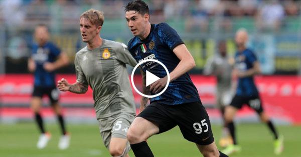 ไฮไลท์บอล กัลโช่ เซเรียอา อิตาลี อินเตอร์ มิลาน vs เจนัว 21-08-64