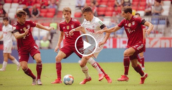 ไฮไลท์บอล บุนเดสลีกา เยอรมัน บาเยิร์น มิวนิค vs โคโลญจน์ 22-08-64