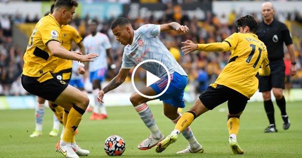 ไฮไลท์บอล พรีเมียร์ลีก อังกฤษ วูล์ฟแฮมป์ตัน vs แมนฯ ยูไนเต็ด 29-08-64