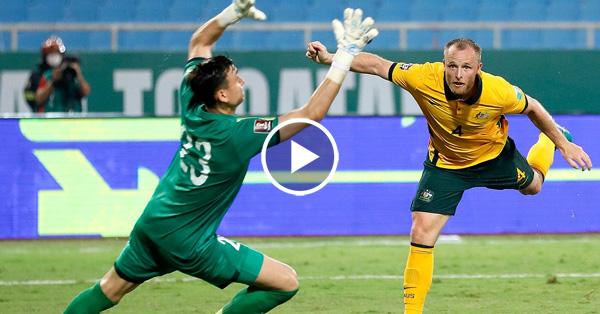 ไฮไลท์บอลโลก 2022 รอบคัดเลือกโซนเอเชีย เวียดนาม vs ออสเตรเลีย 07-09-64