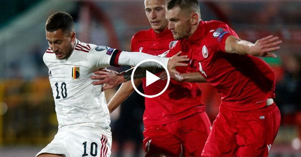ไฮไลท์บอลโลก 2022 รอบคัดเลือกโซนยุโรป เบลารุส vs เบลเยี่ยม 08-09-64