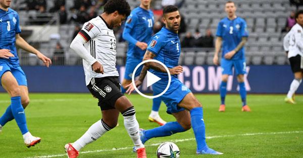ไฮไลท์บอลโลก 2022 รอบคัดเลือกโซนยุโรป ไอซ์แลนด์ vs เยอรมนี 08-09-64