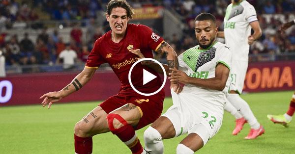 ไฮไลท์บอล กัลโช่ เซเรียอา อิตาลี เอเอส โรม่า vs ซัสเซาโล่ 12-09-64