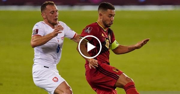 ไฮไลท์บอลโลก 2022 รอบคัดเลือกโซนยุโรป เบลเยี่ยม vs เช็ก 05-09-64