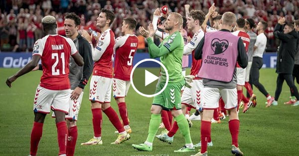 ไฮไลท์บอลโลก 2022 รอบคัดเลือกโซนยุโรป หมู่เกาะแฟโร vs เดนมาร์ก 04-09-64