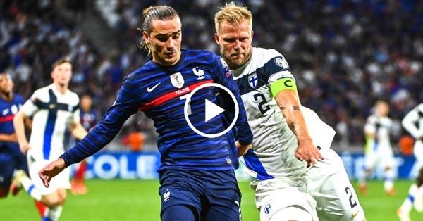 ไฮไลท์บอลโลก 2022 รอบคัดเลือกโซนยุโรป ฝรั่งเศส vs ฟินแลนด์ 07-09-64