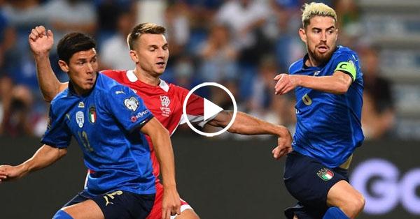 ไฮไลท์บอลโลก 2022 รอบคัดเลือกโซนยุโรป อิตาลี่ vs ลิธัวเนีย 08-09-64