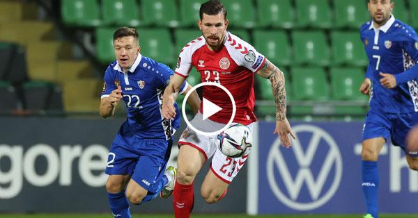 ไฮไลท์บอลโลก 2022 โซนยุโรป มอลโดว่า vs เดนมาร์ก 09-10-64