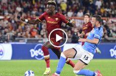 ไฮไลท์บอล กัลโช่ เซเรียอา อิตาลี เอเอส โรม่า vs นาโปลี 24-10-64