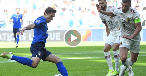ไฮไลท์บอล ยูฟ่า เนชั่นส์ ลีก อิตาลี vs เบลเยี่ยม 10-10-64