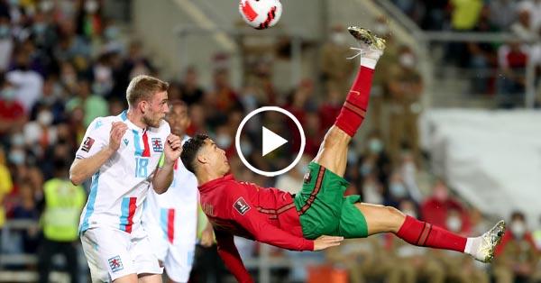 ไฮไลท์บอลโลก 2022 โซนยุโรป โปรตุเกส vs ลักเซมเบิร์ก 12-10-64