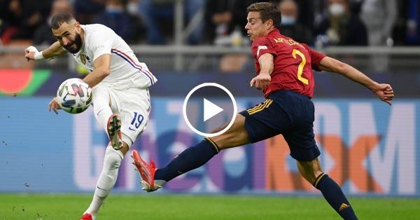ไฮไลท์บอล ยูฟ่า เนชั่นส์ ลีก สเปน vs ฝรั่งเศส 10-10-64